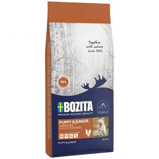 Корм сухой BOZITA NATURALES для щенков всех пород, беременных и кормящих собак 2кг