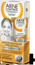 """""""fk"""" Крем для лица дневной матирующий серии «Acne Control Professional» контроль жирного блеска 45мл"""