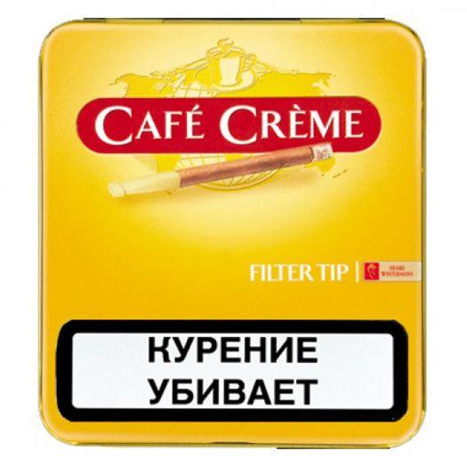 Сигариллы Cafe Creme Filter Tip