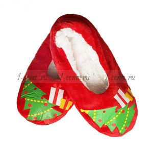 Тапочки женские НГ  красные