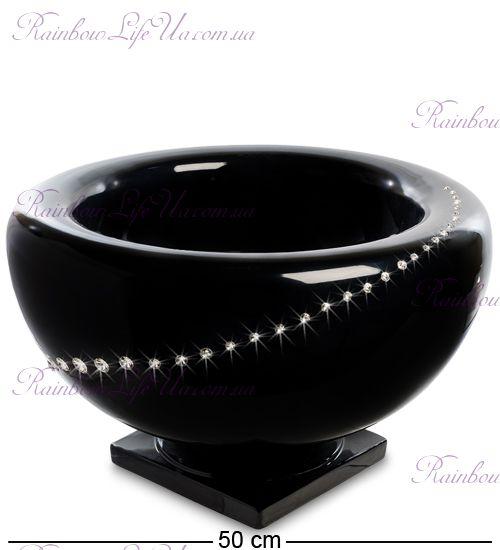 "Ваза чаша с кристаллами Swarovski ""Ahura"""