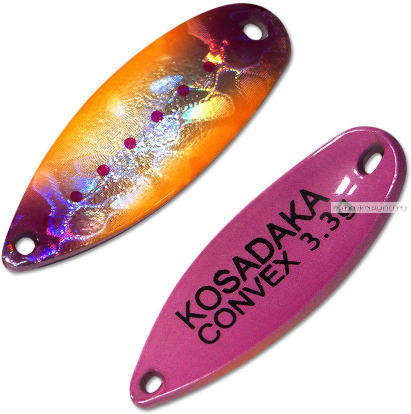 Блесна колебалка Kosadaka Trout Police Convex 3,3 гр / 32 мм / цвет: AD03