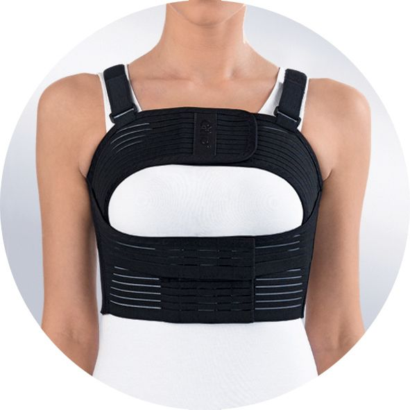 Бандаж на грудную клетку усиленный женский