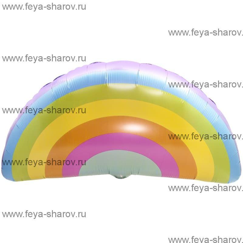 Шар светлая радуга 91 см