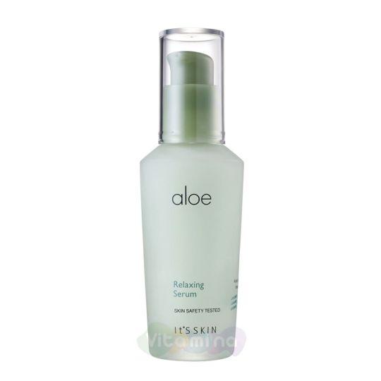 It's Skin Успокаивающая сыворотка для лица с экстрактом алоэ вера Aloe Relaxing Serum, 40 мл