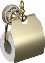 S-06851B SAVOL Durer Бумагодержатель керамический, латунный.Золото