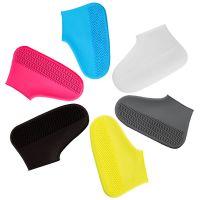 Водонепроницаемые Защитные Чехлы для Обуви Waterproof Silicone Shoe Cover (2)