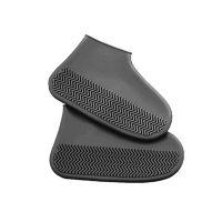 Водонепроницаемые Защитные Чехлы для Обуви Waterproof Silicone Shoe Cover, Цвет Серый (2)