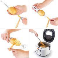 Нож для нарезки картофеля спиралью PRESTO (2)