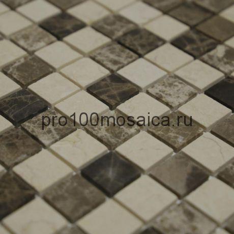 Мозаика Pietrine - Pietra Mix 1 матовая 29,8x29,8х0,4 см (чип 23х23х4 мм)