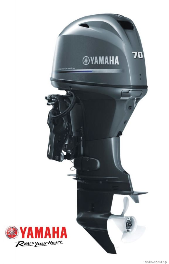 Лодочный мотор Yamaha F 70 AETL - 4х-тактный