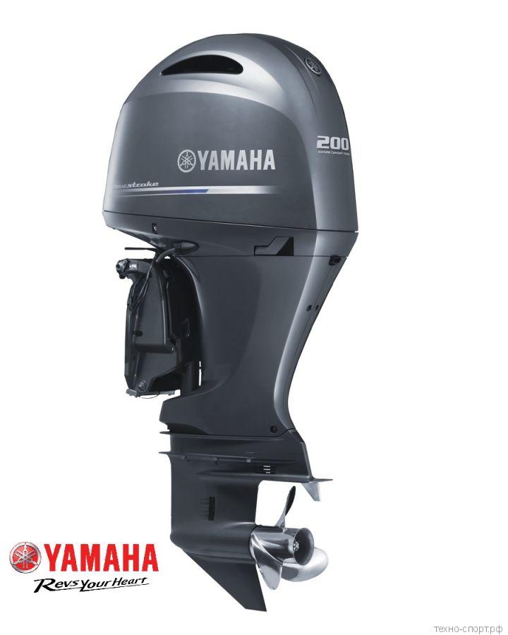 Лодочный мотор Yamaha FL 200 CETX - 4х-тактный  (V6)
