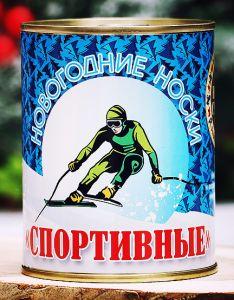 Новогодние Носки Спортивные