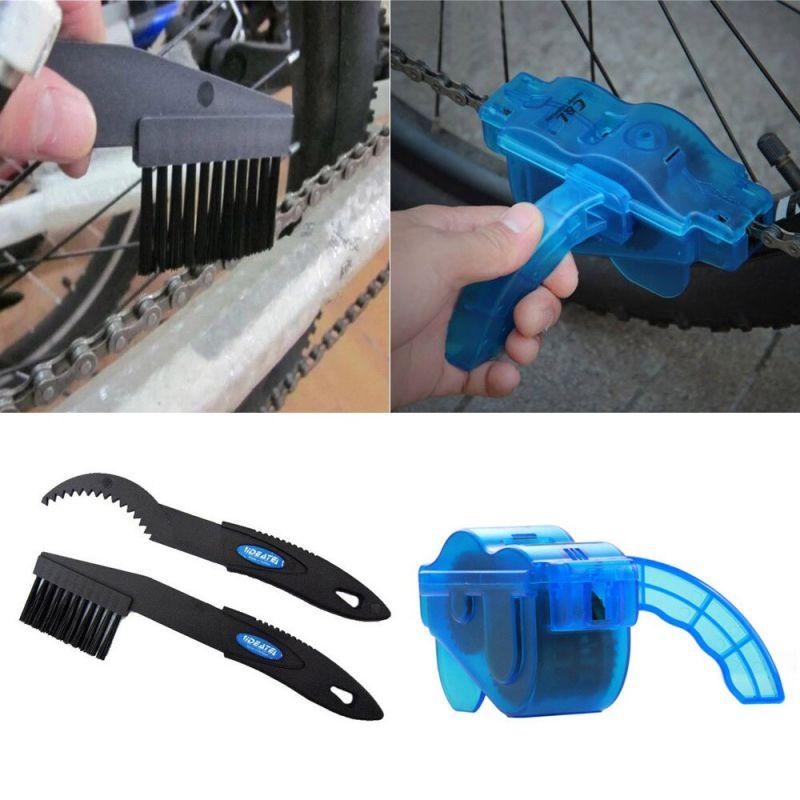 Набор для очистки велосипедной цепи Bicycle Chain Cleaner Brush Set