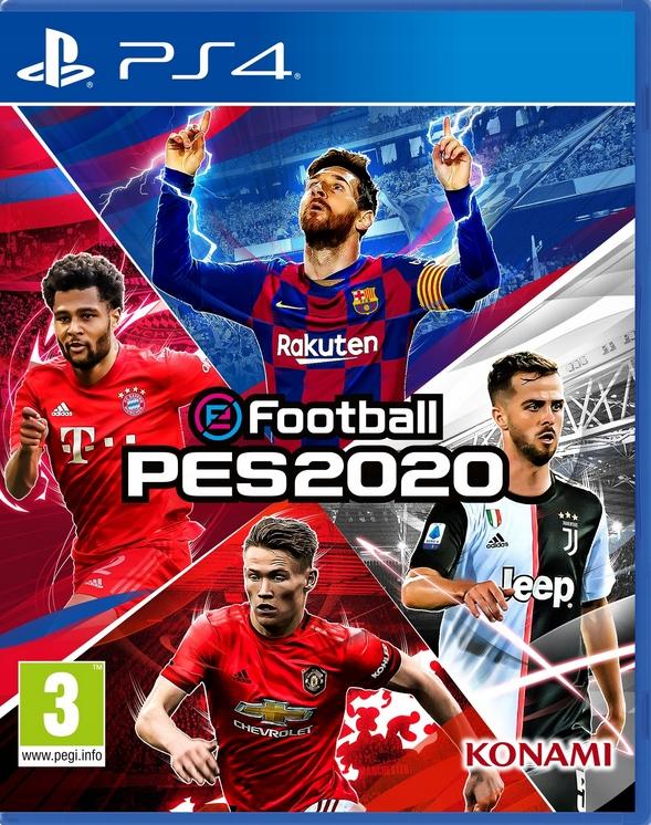 Konami eFootball PES 2020 для Ps4