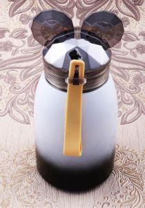 Термостакан Мышонок  (черный, 17 см)