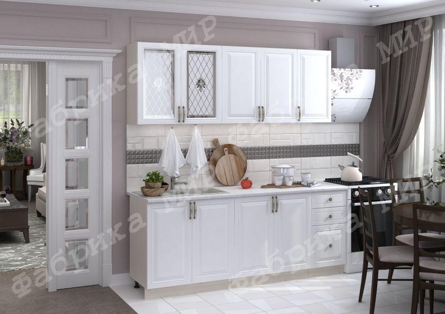 Кухня прямая Елена 2.0 м Мир