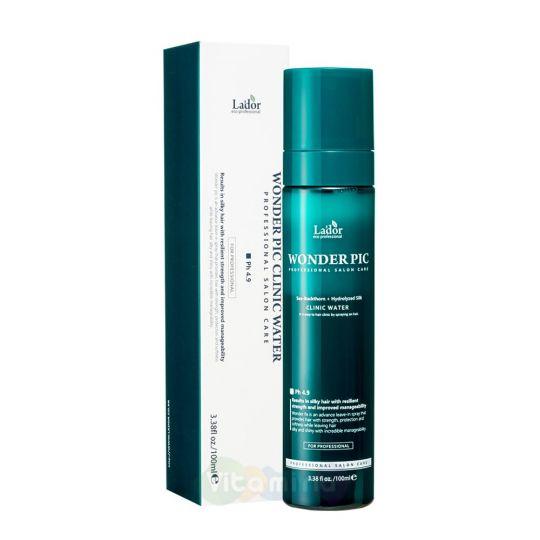 La'dor Слабощелочной спрей для укрепления и защиты волос Wonder Pick Clinic Water pH 4.9, 100 мл