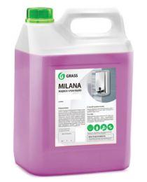 Крем-мыло жидкое увлажняющее Milana черника в йогурте 5л- купить в Челябинске | Антибактериальное жидкое мыло цена