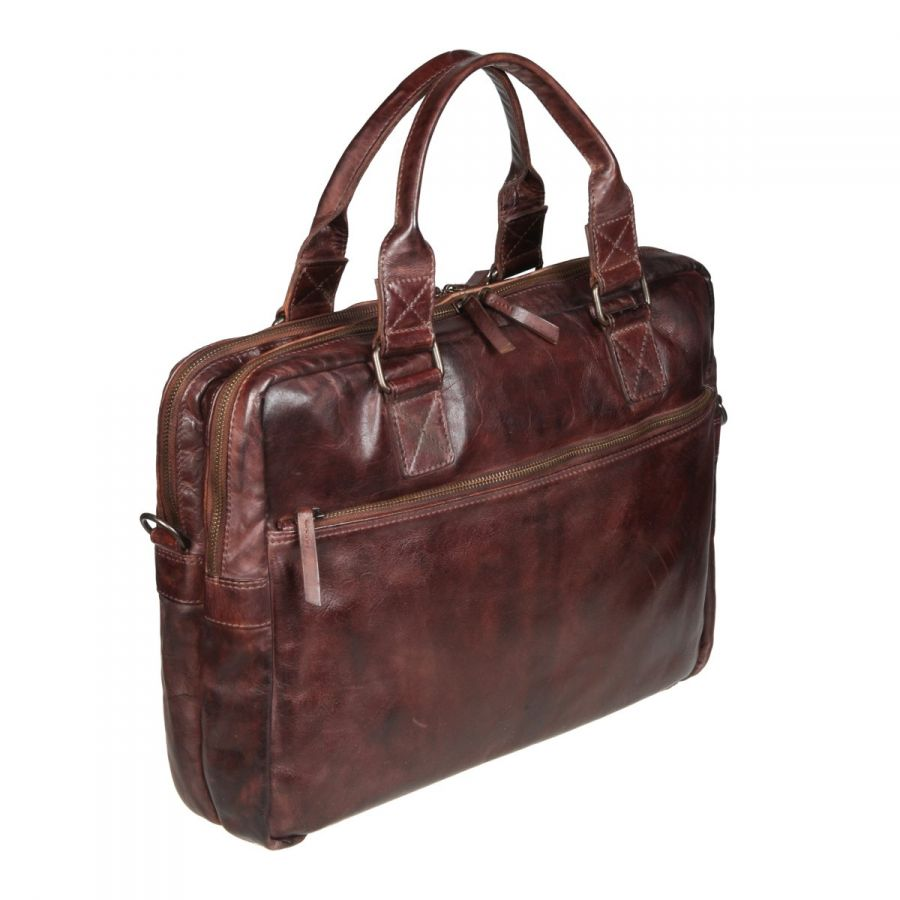 БИЗНЕС-СУМКА GIANNI CONTI 4101283 BROWN