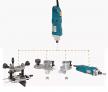 Фрезер 1 кВт многофункциональный универсальный VIRUTEX COMBI FR356Z 5600610
