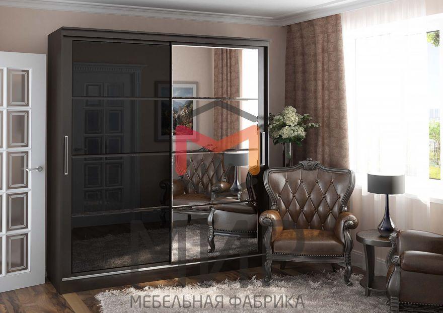 Шкаф-купе с зеркалом Танго 2 МИр
