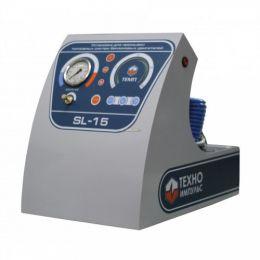 SL-015 Установка для промывки инжекторов, один контур (бензин)