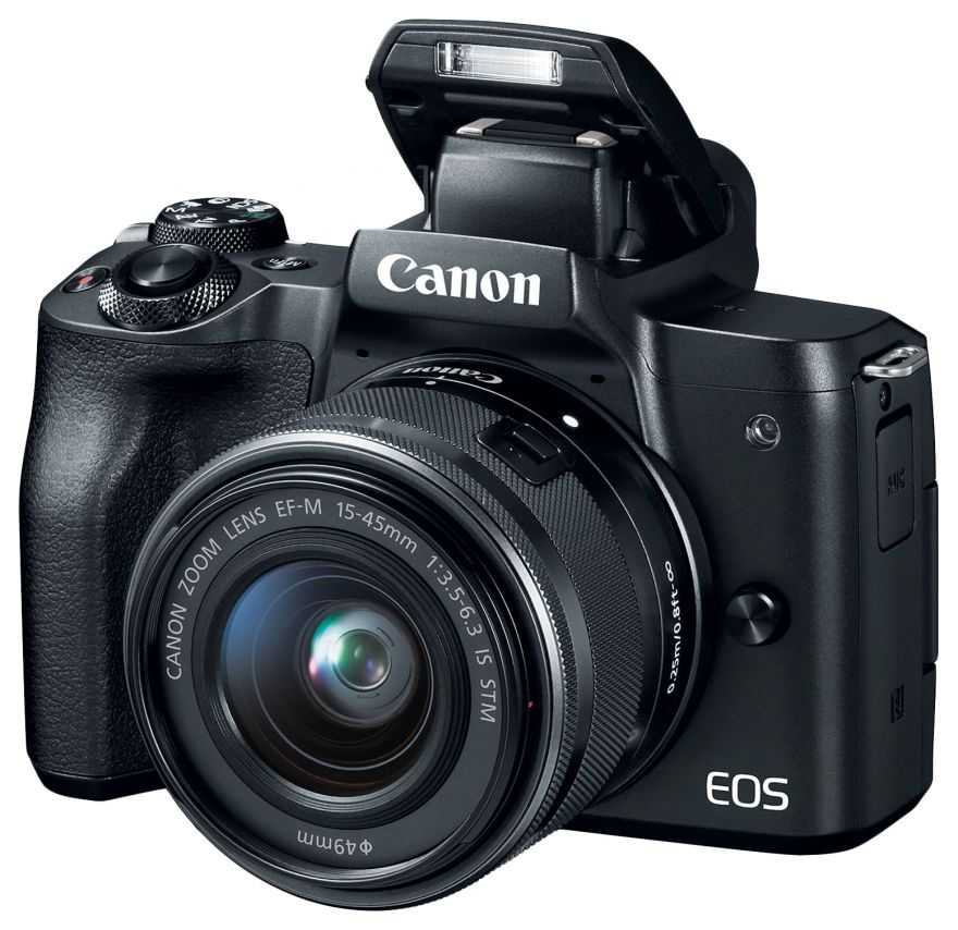 Canon EOS M50 EF-M15-45 IS STM Kit Black