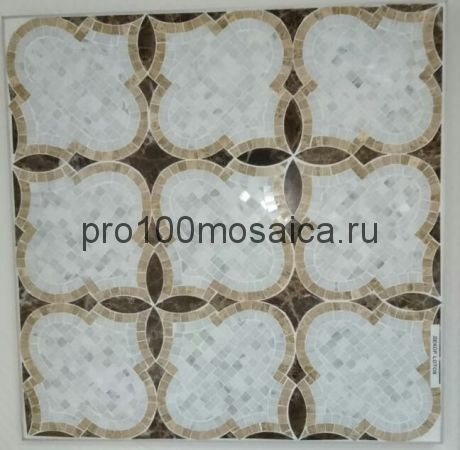 LOTOS. Мозаика серия Water Jet, размер, мм: 305*305*10 (ORRO Mosaic)