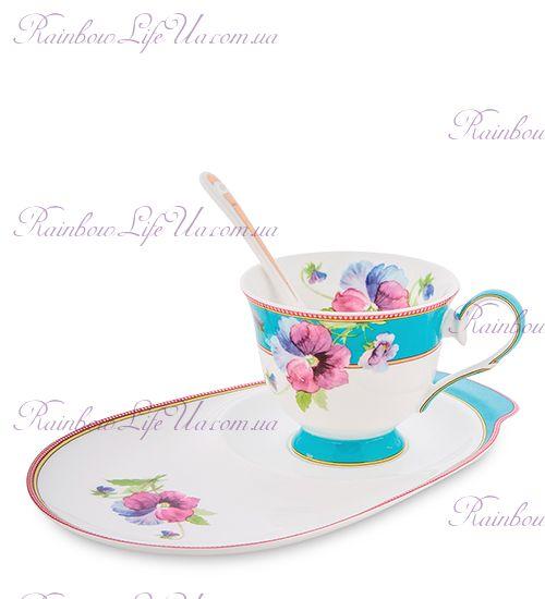 Чайная пара Виола ''Viola Pavone''