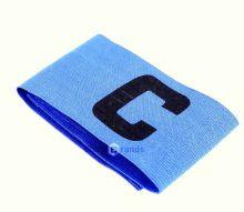 Капитанская футбольная повязка Голубая