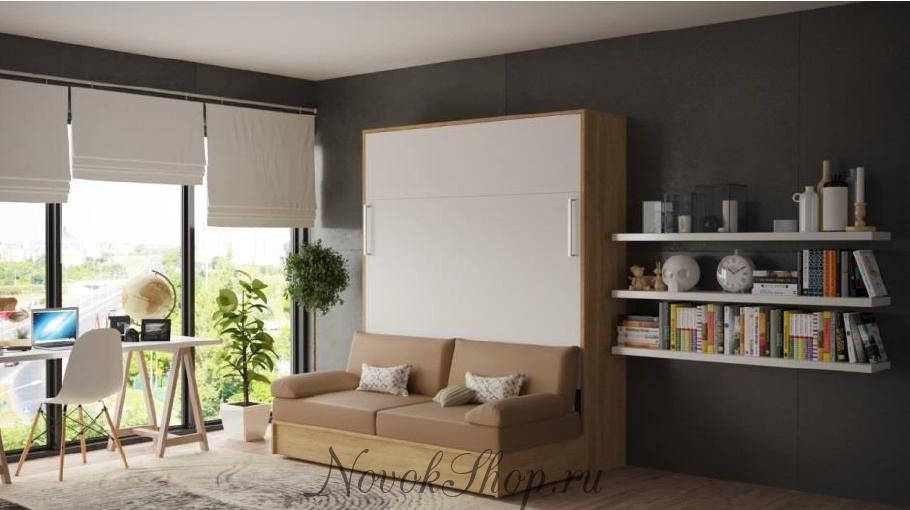 Шкаф-кровать с диваном LIBERTY LITE