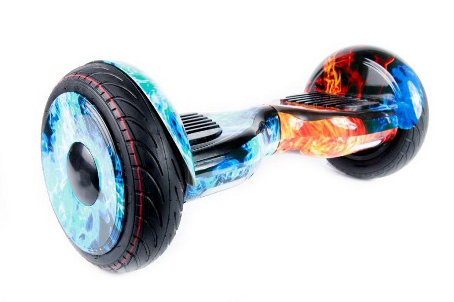 Гироскутер Smart Balance PRO PREMIUM 10.5 V1 (+AUTOBALANCE, +MOBILE APP) Огонь и лед