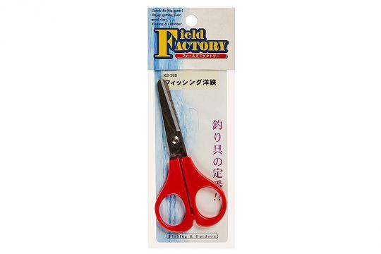 Ножницы Field Factory Fishing Scissors KS-268 Red