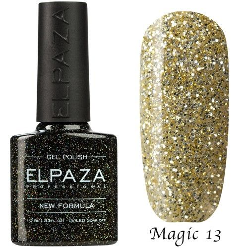Гель лак ELPAZA MAGIC GLITTER 10 мл  СФИНКС 13