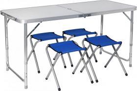 Набор мебели PREMIER стол + 4 табурета PR-HF10471-1