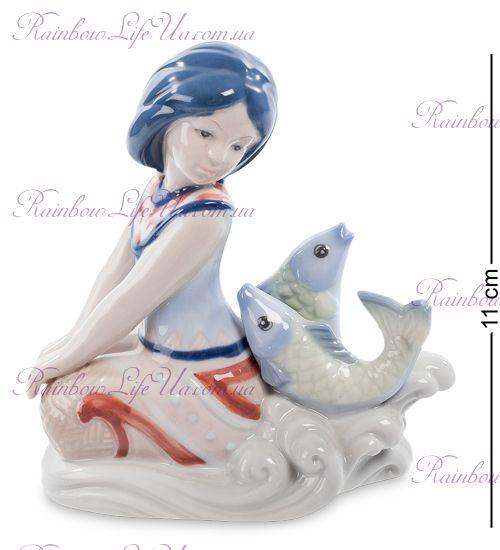 """Статуэтка - зодиак Рыбы """"Pavone"""""""