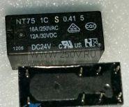Реле NT75-C-S-16-DC24V-0.41-5.0