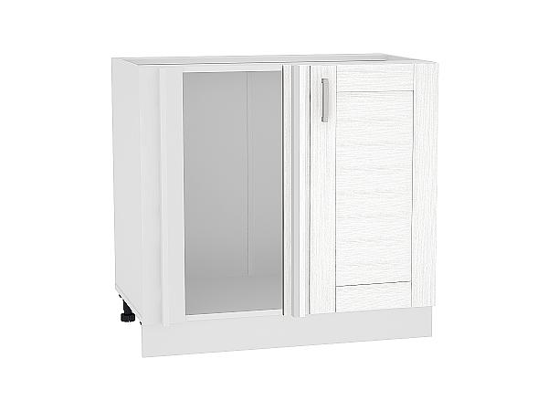 Шкаф нижний угловой Лофт НУ990 (Snow Veralinga)