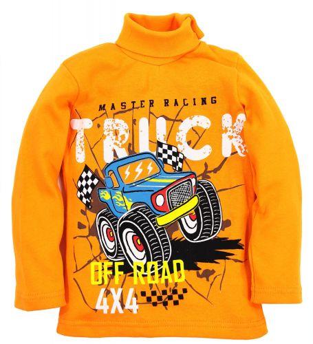 "Водолазка для мальчика Bonito kids ""Truck 4x4"" 1-4 года"