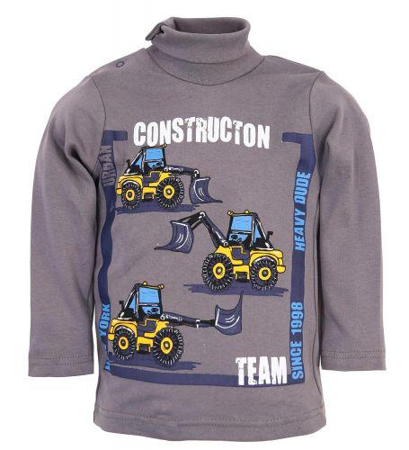 "Водолазка для мальчика Bonito kids ""Constructon team"" 1-4 года"