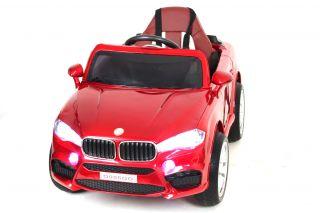 Детский электромобиль River Toys BMW O006OO VIP глянцевый