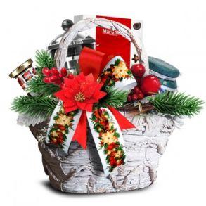 Подарочная корзина Зимние ягоды
