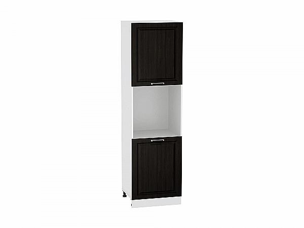 Шкаф пенал под бытовую технику Прага ШП600 (Венге премиум)