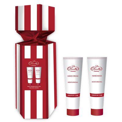 Liss Kroully Luxury Парфюмерно-косметический подарочный набор ST-1901 Конфета Крем для рук увлажняющий 75 мл + Маска для рук увлажняющая 75 мл