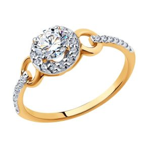 Кольцо из золота 81010463 SOKOLOV
