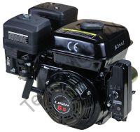 LIFAN 168F-2D мощность 6,5 л.с., 4-хтактный, одноцилиндровый, с воздушным охлаждением, вал 20 мм, объем 196см³, ручной и электрический стартер, вес 16 кг, диаметр выходного вала 19 мм.