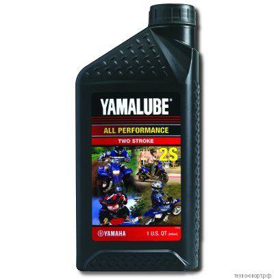 Yamalube 2S, 2Т, Полусинтетическое (0,946 л)