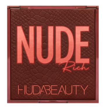 Палетка теней Huda Beauty - Rich Nude Obsessions