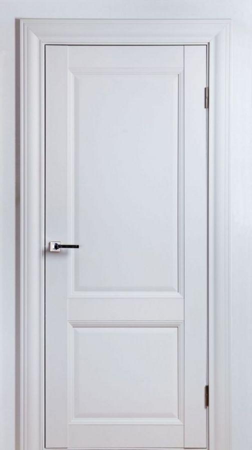 Дверное полотно Classik-1 F Белый Шёлк